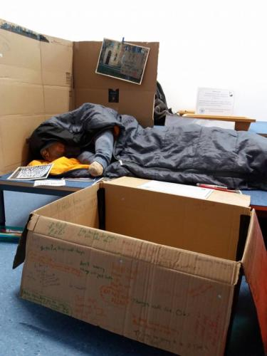 Reflecting on homelessness